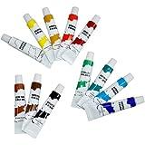 DKB 707938 - Pinturas acrílicas (12 colores, 12 ml)
