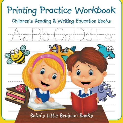 Printing Practice Workbook: Children's Reading & Writing Education Books