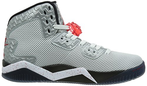 Nike Air Jordan Spike Forty Pe, Chaussures de Sport Homme, Taille White-Fire Red-Black