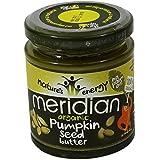 MERIDIAN - Beurre de graines de citrouille 100% sans huile de palmier - Sans Gluten - Vegano - 170 gr - en pot...
