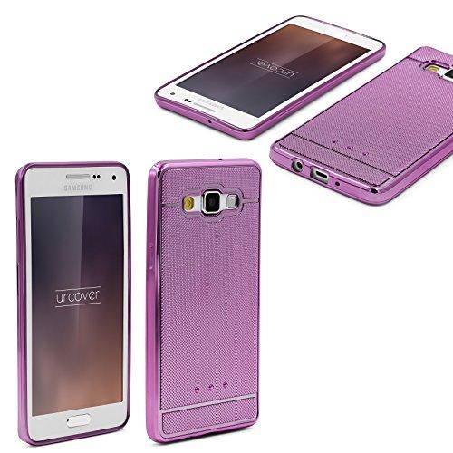 UrCover Galaxy A5 (2015) Custodia, Bumper shock-absorption TPU Rosa anti-scratch Back Cover Silicone, custodia protettiva per Samsung Galaxy A5 (2015) 5 pollici - Rosa