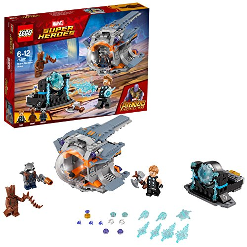 LEGO 76102 Marvel Super Heroes Thor's Weapon Quest Superhero Toy Best Price and Cheapest