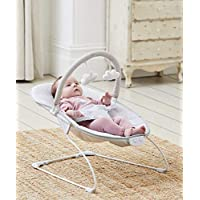 Baby Grey Elephant First Bouncer with Soothing Music Vibration and Toys 0m+ 144