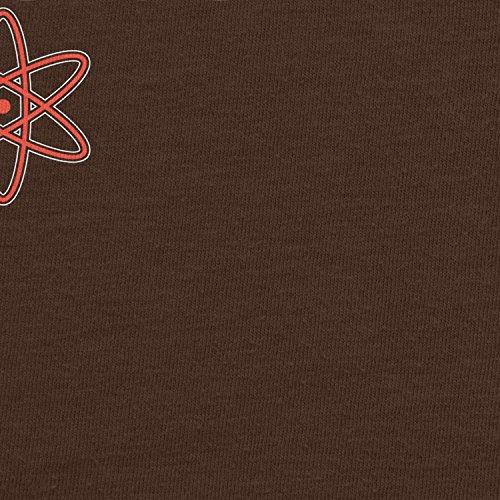 Planet Nerd - Everything happens for a Reason - Damen T-Shirt Braun