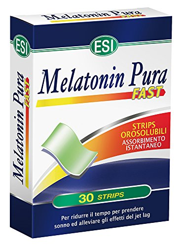 Esi Melatonin Pura Fast Integratore Alimentare - 30 Strisce