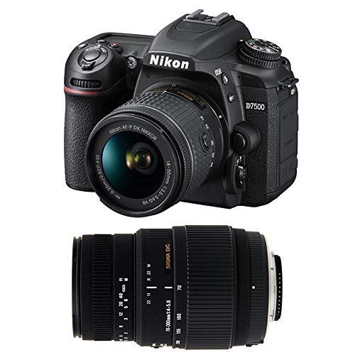 NIKON D7500 + 18-55 VR + SIGMA 70-300 DG MACRO
