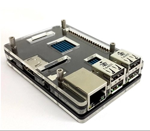 rpi-ninja-case-geotech-raspberry-pi-acrylic-coupe-box-case-cover-black-white-clear-colour-housing-to