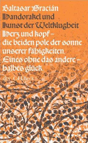 Buchseite und Rezensionen zu 'Handorakel und Kunst der Weltklugheit (dtv Fortsetzungsnummer 31)' von Baltasar Gracián
