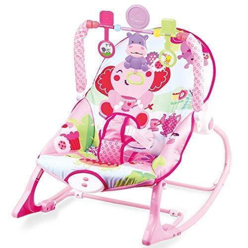 Babywippe mit Musik und Vibrationen/Verstellbare Babyschaukel/Spielzeug für Babies