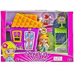 Pinypon Minicasita Violeta con Tienda de Cupcakes (Famosa 700014333)