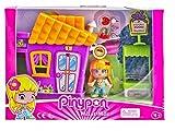 Pinypon- Minicasita Violeta con Tienda de Cupcakes (Famosa 700014333)