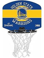 Spalding NBA Miniboard Golden State - Pallone da Basket, Multicolore, Taglia Unica
