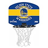 SPALDING - NBA MINIBOARD GOLDEN STATE (77-661Z) - Mini Panier Basket - Logo Officiel...