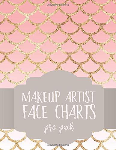 Makeup Artist Face Charts: Pro Pack (Face Charts for Makeup Artists) por iphosphenes journals