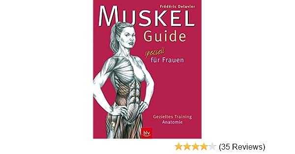 Muskel-Guide speziell für Frauen: Gezieltes Training · Anatomie ...
