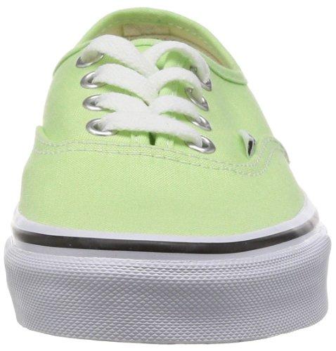 Vans U AUTHENTIC (WASHED) BLACK VVOE4JT Unisex-Erwachsene Sneaker Grün (paradise green/)