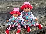 Puppenkleidung handmade Gr.36-38 cm ODER 46 -48 cm für z.B. my first Annabell Chou Cookie Lolle...