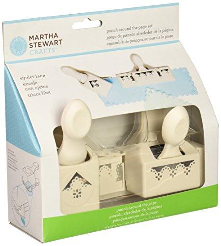 Wilton Brands Inc Martha Stewart Crafts Locher für alle Blattränder Ösen-Spitze weiß