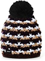 Beanie Hat London Wool Knitted NORDIC with Pom Pom Men's Women's Winter Warm SKI Snowboard Hats