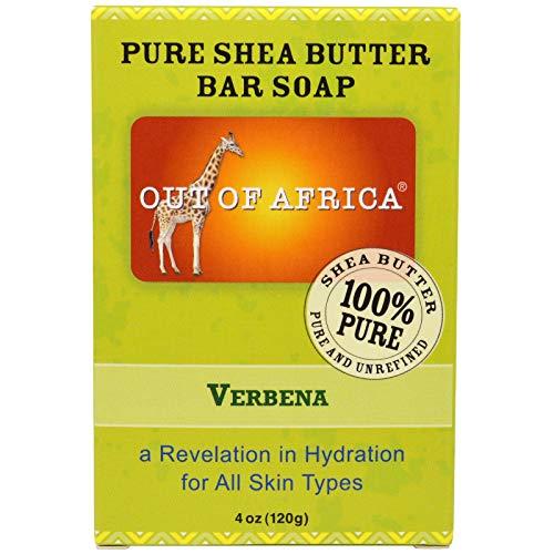 Pur Beurre de Karité Savon, Verveine, 4 oz (113 g) - Out of Africa