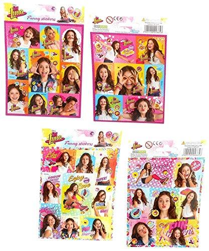 Disney Soy Luna Sticker Bogen -