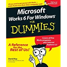 Microsoft Works 6 for Windows For Dummies 1st edition by Kay, David C. (2001) Paperback