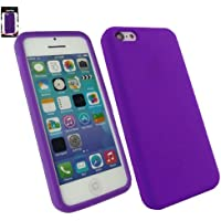 Emartbuy® Apple Iphone 5c Silicon Skin Cover / Schutzhülle Lila