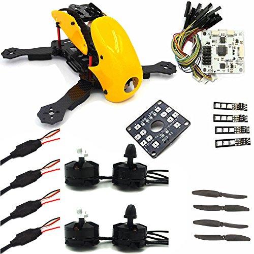 LHI FPV Mini Robocat Karbon 270 4-AchseQuadrokopter Rennkopter rennen Kit ARF+ CC3D Flugcontroller + MT2204 2300KV Motor + Simonk 12A ESC + 6030 CF Propeller Prop