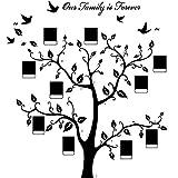 Familia Marco de Fotos Rama de Árbol Etiqueta de La Pared Etiqueta Engomada del Marco de Foto para la Cocina Casera Dormitorio Sala de Estar Decoración