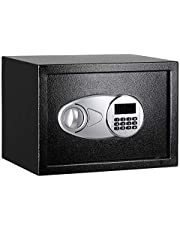 AmazonBasics Security Safe - 0.5-Cubic Feet,Black(14.15 litres)