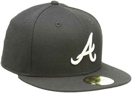 e4a11ba9571b2 New Era MLB Basic Atlanta Braves 59Fifty Fitted - Casquette De Baseball -  Homme