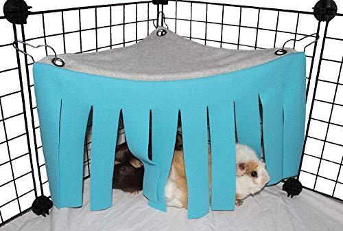 ASOCEA Petit Animal Hamster Tente Hamac Cage Cage...