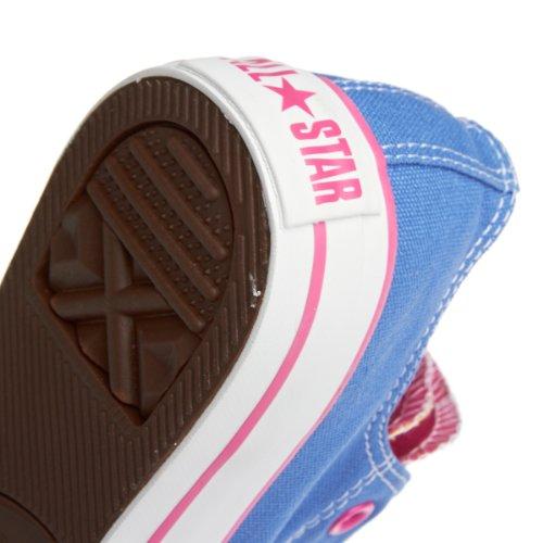 Converse All Star Double Languette Baskets Bleu Bleu