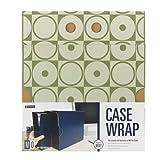 Smead MO® File Case Wrap, Letter Size, Moss Circles (92032)