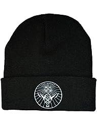 Twisted Yahgrr Beanie Hat Bonnet Occult gothique emo
