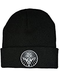Twisted Yahgrr Beanie Hat Bonnet Occult gothique emo