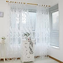 BZLine® 1 Panel Weizen Sheer Gardine Tüll Fensterbehandlung Voile Vorhang  ...