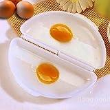 Bazaar Zwei Eier Küche für Mikrowelle Bratpfanne Ei Pfannkuchen Küche Omelett Mikrowelle Dampf