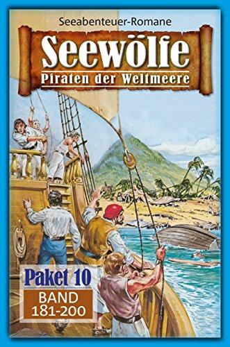 Seewölfe Paket 10: Seewölfe - Piraten der Weltmeere, Band 181 bis 200