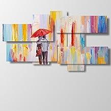 Cuadro moderno–Abstracto 09–multipanel y multinivel, 3D–17combinaciones hasta 182cm