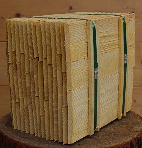 Fichtenholzschindeln 30cm, Bundinhalt 9 Breitenmeter