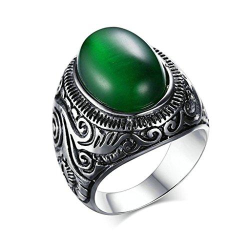 amdxd-bijoux-acier-inoxydable-homme-bagues-de-fiancailles-vert-ovale-cz-taille-615lettrage-gratuit
