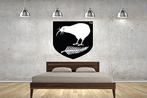 NZ Kiwis Rugby League Badge Kinder 70cm Wand Sticker Art Wand Transfers Aufkleber customise4utm