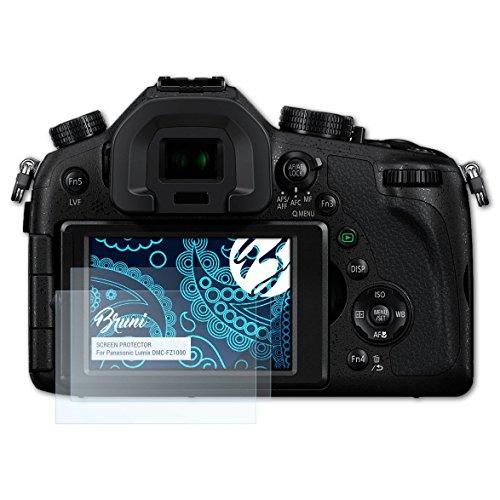 mpatibel mit Panasonic Lumix DMC-FZ1000 Folie, glasklare Displayschutzfolie (2X) ()