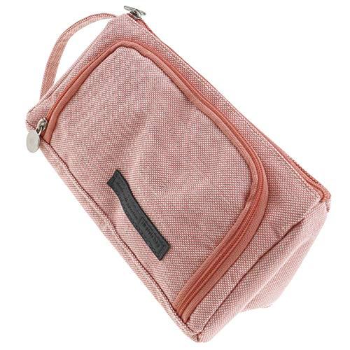 Descripción del producto: -[Gran capacidad]: diseño de gran capacidad, se puede utilizar para almacenar una variedad de bolígrafos y artículos de papelería, o se puede utilizar como una bolsa de cosméticos. - [Material lavable y duradero]: Hecho d...