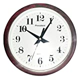 President's Round Wall Clock With Wooden...
