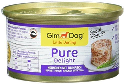 GimDog Pure Delight pollo con atún , Snack rico en proteínas en...