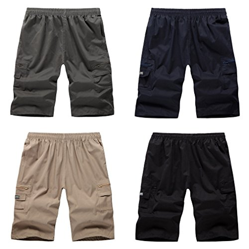 COMVIP - Pantaloncini - Straight  - Basic - Uomo Blue