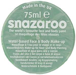 Snazaroo - Maquillaje al agua para cara y cuerpo (75 ml)- color verde brillante