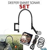Deeper Smart Sonar Pro + Plus Zubehör SET + Flexarm Echolothalterung & Smartphone Halterung